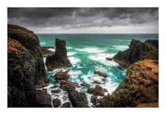 Still Standing (Augmented Reality Images (Getty Contributor)) Tags: nisifilters benro buttoflewis canon cliffs clouds coastline islands isleoflewis landscape longexposure outerhebrides rocks scotland seastack seascape spring storm water waves