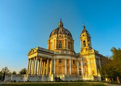 Basilica Sunset (Star Wizard) Tags: superga piemonte italy it