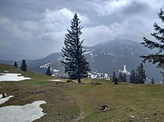 View to the South (aniko e) Tags: farrenpoint badfeilnbach hiking outdoors spring snow mountains bavaria bayern germany