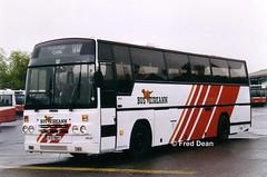 Bus Eireann PD21 (91D10021). (Fred Dean Jnr) Tags: buseireann daf mb230 plaxton paramount pd21 91d10021 capwellgaragecork april1999 cork capwell buseireanncapwelldepot capwelldepotcork