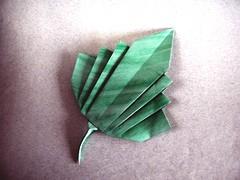 Tropical Leaf - Meenakshi Mukerji (Rui.Roda) Tags: origami papiroflexia papierfalten hoja feuille folha tropical leaf meenakshi mukerji