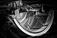 retro machine writing (Angelo Petrozza) Tags: retro writing machine blackandwhite biancoenero bw moving movimento angelopetrozza smcdfa100mmf28macrowr