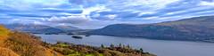 Lakeland panorama (Peter Leigh50) Tags: panorama landscape landschaft lake district derwent water sky mountains hill fells fujifilm fuji xt2