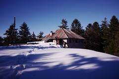 Ancienne batterie de RocheBrune (boklm) Tags: alpes france fuji100t snow