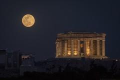 Supermoon 2019 over the Acropolis (Alexandros Maragos) Tags: earth space supermoon moon athens greece acropolis parthenon αλέξανδροσμαραγκόσ alexandrosmaragos fullmoon