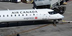 AC CRJ-900LR C-GJZS (kenjet) Tags: express ac aircanada aircanadaexpress jazz jazzair plane jet flugzeug canadair bombardier crj cr9 crj900 crj900lr cgjzs lr gate sf sfo ksfo airport sanfranciscointernationalairport nose