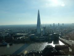 View of the Shard etc. from the Sky Garden (John Steedman) Tags: london uk unitedkingdom england イングランド 英格兰 greatbritain grandebretagne grossbritannien 大不列顛島 グレートブリテン島 英國 イギリス ロンドン 伦敦 skygarden walkietalkie shard