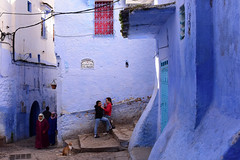 Morocco, January 2019 D810 784 (tango-) Tags: chefchaouen bluecity villaggioblu bluevillage morocco maroc 摩洛哥 marruecos марокко المغرب