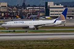 N37456 (rcspotting) Tags: n37456 boeing 737900 united airlines lax klax