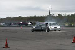 DSC_9701 (Find The Apex) Tags: nolamotorsportspark nodrft drifting drift cars automotive automotivephotography nikon d800 nikond800 tandemdrift tandem tandemdrifting tandembattle nissan 240sx nissan240sx s13 s14