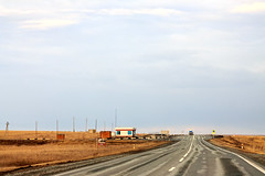 Road in Siberian plains (man_from_siberia) Tags: road plains siberia russia spring earlyspring april asphalt roadside travel дорога степь сибирь россия весна апрель пейзаж canon eos 1100d dslr canoneos1100d canon1100d canonrebelt3 canoneoskissx50 helios442 гелиос442 helios442258 manualfocus manualfocuslens