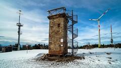 Türme (Feinblick) Tags: badenwürttemberg schwarzwald hornisgrinde deutschland winter schnee windkraft