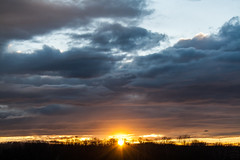 Sunset / @ 55 mm / 2019-03-07 (astrofreak81) Tags: explore clouds sunnset sun wolken sonnenuntergang sonne sky himmel heaven light dawn redsky evening abend red orange dresden 20190307 astrofreak81 sylviomüller sylvio müller