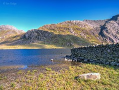 Llyn Idwal (Ian Gedge) Tags: wales cymru northwales britain mountains snowdonia uk llyn lake idwal water stream landscape