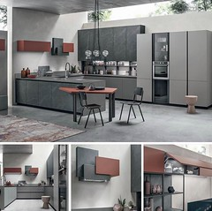 Italian Kitchen Furniture (belvisifurniture7) Tags: kitchen combinations colors nero rosso jaipur fenix kitchendesign madeinitaly ceramic kichendesignstudio belvisifurniture cambridge london italianfurniture