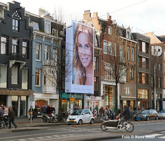 Van Baerlestraat 21-1-2018 (k.stoof) Tags: vanbaerlestraat amsterdam street traffic verkeer bakfiets