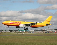 D.H.L                              Airbus A300                                 D-AEAS (Flame1958) Tags: dhl dhla300 airbus a300 a300f 300f 300 daeas dub eidw dublinairport 200319 0319 2019 airfreight aircargo 8411