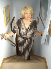 Mom (Laurette Victoria) Tags: mom mother woman laurette blonde necklace dress