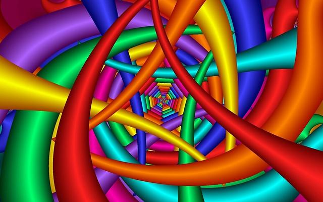 Обои яркий, разноцветный, фон, линии картинки на рабочий стол, фото скачать бесплатно
