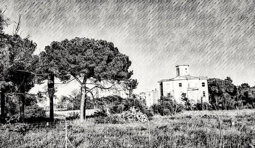 Casino del Americano - Quinta de Nuestra Señora de las Mercedes, bien cultural de titularidad municipal - Patrimonio Cultural Valenciano - Benicalap - Valencia