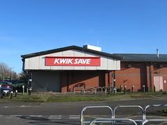 Barrow in Furness (alexliivet) Tags: barrowinfurness cumbria england uk abandoned derelict supermarket grocerystore kwiksave sign