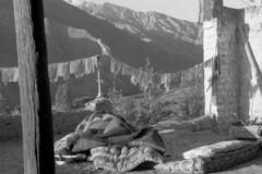 Prayer flags (Paolo Levi) Tags: prayerflag matho gompa ladakh india bed canon ftb fd 50mm tmax