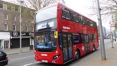 P1150458 VMH2595 LF19 FXX at New Broadway Uxbridge Road Ealing Broadway London (LJ61 GXN (was LK60 HPJ)) Tags: volvob5lhybrid mcv evoseti mcvevoseti 105m 10490mm metroline metrolinewest vmh2595 lf19fxx nb1000