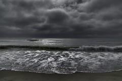 Restless Soul (delmarvajim) Tags: digitalart digitalprocessing digitaleffects digitalpainting fineart seascape clouds water surf waves beach sand light shadow reflection assateagueisland