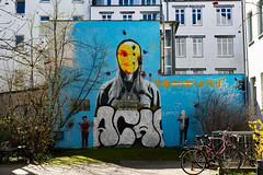 hero or terror? (Rasande Tyskar) Tags: hamburg karo viertel streetart art street urban graffiti graffity graffito is you hero