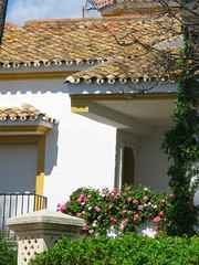 Flowery Villa! ('cosmicgirl1960' NEW CANON CAMERA) Tags: marbella spain espana andalusia costadelsol puertobanus blue sky green trees villas travel holidays yabbadabbadoo houses homes