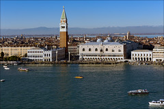 View of San Marco. Campanile di San Marco. (atardecer2018) Tags: venice italy city water winter 2018 италия архитектура architecture arquitectura венеция