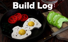A Healthy Start: Build Log (-LittleJohn) Tags: lego moc food photography commentary build log brickbuilt creation