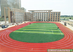 SSGSPORTSURFACE-CONSTRUCTION-SERVICE-TRACK (1) (ssgsportsurface) Tags: ssgsportsurface sportflooring runningtrack basketballcourt sportcourt stadium construction epdm syntheticflooring siliconpu prefabricatedrunningtrack