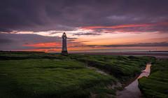 New Brighton Lighthouse (colin@thecranes.co.za) Tags: unitedkingdom 2017 newbrightonlighthouse sunset liverpool