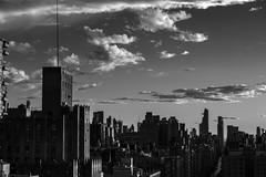 Late Afternoon Light _ bw (Joe Josephs: 3,166,284 views - thank you) Tags: manhattan nyc newyorkcity goldenhour urbanscene cityscape citybuildings urbanexploration dramaticsky urbanlandscape sky clouds sunset bw monochrome blackandwhite blackandwhitephotography