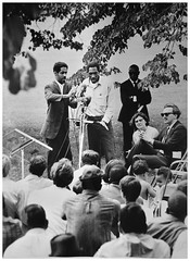 Robinson says time for non-violence may be over: 1967 (Washington Area Spark) Tags: washington mobilization committee end war vietnam ray robinson jr dagmar wilson robert greenblatt herb kelsey protest demonstration rally monument dc 1967 anti