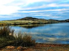 2019-02-02_12-17-55 (lillypotpie) Tags: water lakejedjohnson mountains oklahoma prairiegrasses rocks sky clouds