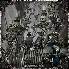 """In 1995, Kutna Hora and Sedlec became a UNESCO World Heritage Site. """"Heritage is our legacy from the past, what we live with today, and what we pass on to future generations."""" -UNESCO . 💀 Sign up on our mailing list for exciting special announcement (Sedlec Ossuary Project) Tags: sedlecossuaryproject sedlec ossuary project sedlecossuary kostnice kutnahora kutna hora prague czechrepublic czech republic czechia churchofbones church bones skeleton skulls humanbones human mementomori memento mori creepy travel macabre death dark historical architecture historicpreservation historic preservation landmark explore unusual mechanicalwhispers mechanical whispers instagram ifttt"""