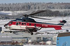 Aerospatiale AS332L1 Super Puma G-TIGG Bristow Helicopters (Mark McEwan) Tags: aerospatiale as332l1 superpuma gtigg tiger bristowhelicopters bristow abz aberdeenairport aberdeen helicopter aviation aircraft