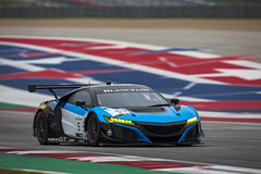 Blancpain World Challenge America | CoTA | 2019 | Promoter Test (Gradient Racing) Tags: tillbechtolsheimer ryaneversley blancpainworldchallengeamerica pirelli acuransxgt3 nsx cota circuitoftheamericas acura hpd hondaperformancedevelopment redlineoil gradientracing gt3