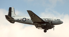 DC-3 | N587MB | MIA | 19980326 (Wally.H) Tags: douglas dc3 dakota n587mb dragonair mia kmia miami airport