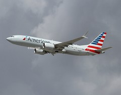 American Airlines                                      Boeing 737 MAX                                 N316RK (Flame1958) Tags: american americanairlines americanb737 americanb737max americanmax boeing737 boeing boeing737max 737max max737 b737 737b737max n316rk mia kmia miamiairport 270219 0219 2019 0318