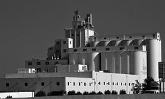 LDS Grain Mill (arbyreed) Tags: arbyreed grain grainstorage pastafactory lds mormon mormonchurch ldschurch welfare ldswelfareprogram comodities monochrome bw blackandwhite deseretmillandpasta deseretpasta