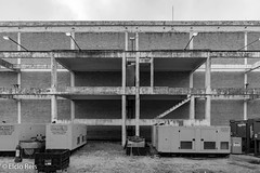 Vera Cruz Pavilion (elcio.reis) Tags: veracruz sãopaulo nikon urbex arquitetura pb brazil architecture blackwhite brasil sãobernardo prédios bw build sãobernardodocampo br