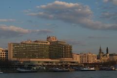 IMGP4017 (hlavaty85) Tags: budapest budapešť brutalism hotels riverside řeka dunaj buildings brutalismus