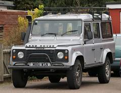 M861 WSN (Nivek.Old.Gold) Tags: 1994 land rover defender 110 tdi station wagon 2495cc