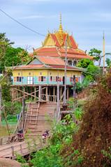 Kampong Khleang (Kelly Renée) Tags: cambodia kampongkhleang seasia southeastasia tonlesap colorful river village wat kampongkhleangfloatingvillage siemreapprovince kh
