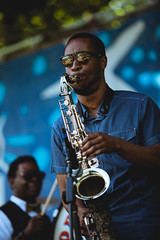 French Quarter Fest 2019 - Preservation Brass - Calvin Johnson