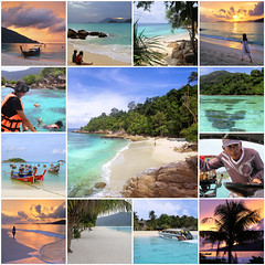 Tropical paradise Koh Lipe (B℮n) Tags: fdsflickrtoys best collection finest greatest collage paradise kolipe kohlipe เกาะหลีเป๊ะ kohlippy adangrawi archipelago ploysiam speedboat national park kohturatao koturatao kohlipeh nationalparkkohtarutao tarutao bounty island thailand anadamansea sandy beach pakbara marinepark snorkling adang rawi tourism vacation holiday coral reef tropical fish nemo protectedarea chaolay chaoley boat palmtree coconuts crystal clear water siam seagypsies longtail nature reserve satun blue cyan thai sunrise bulowbeach deserted woman sunbathing lowseason rainyseason relax swimming solitude happyplanet asiafavorites 50faves topf50 topf100 100faves