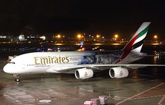 Emirates   A380-800   A6-EUW   HAM   04.01.2019 (Norbert.Schmidt) Tags: realmadrid a6euw hamburgairport a380800 a380 airbus emirates